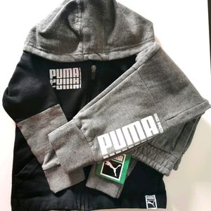 Puma Toddler Boys Matching Sweatpants and Sweater